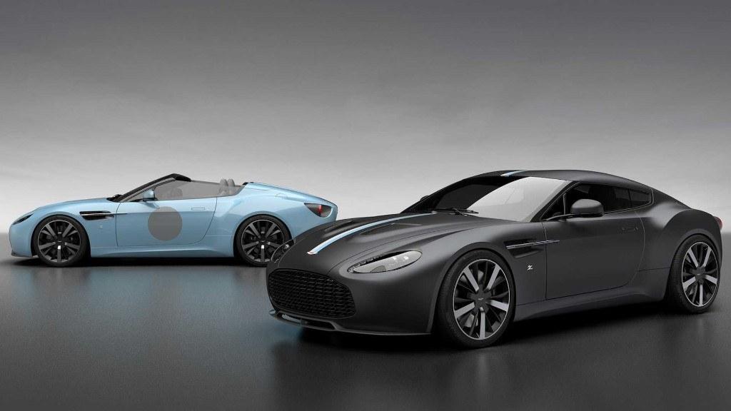 Nuevos Aston Martin Vantage V12 Zagato Heritage Twins de edición limitada