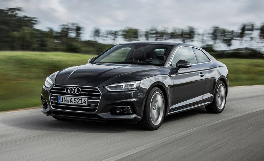 El Audi A5 Coupé estrena la versión Black Line