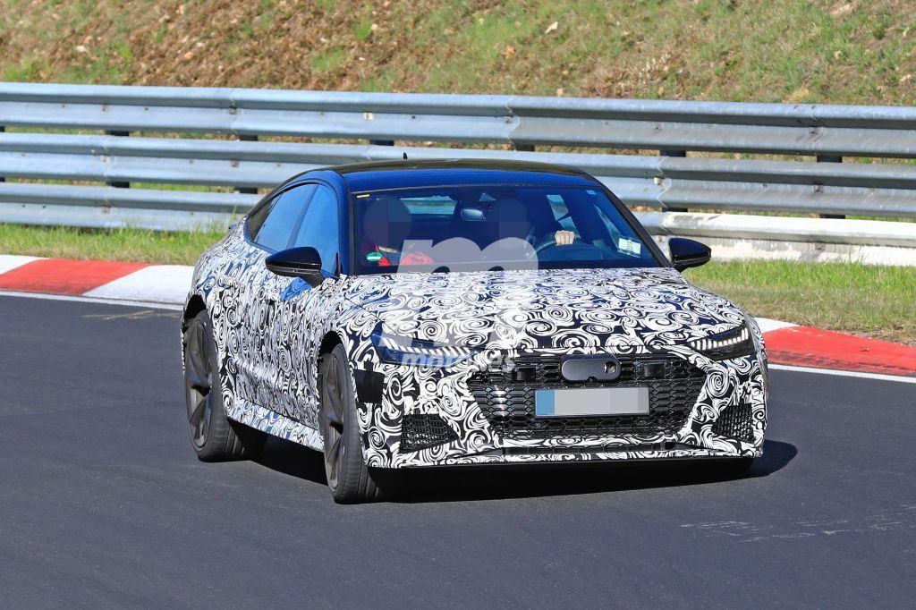 El Audi RS7 Sportback rueda en Nürburgring con su configuración definitiva