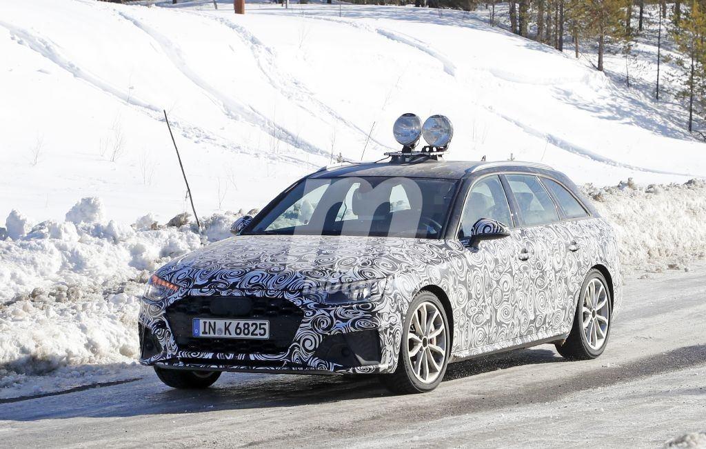 El Audi S4 Avant, cazado en las pruebas de invierno en nuevas fotos espía