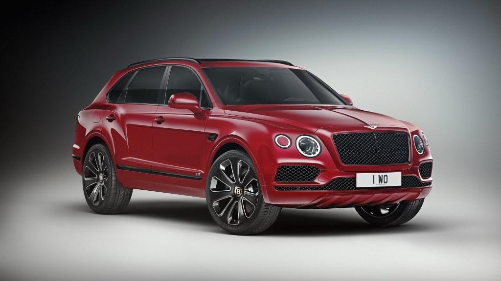 Bentley presenta el nuevo Bentayga V8 Design Series