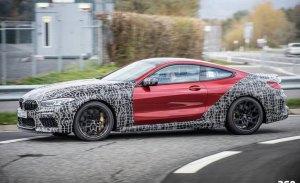 El nuevo BMW M8 Competition rueda más destapado en Nürburgring