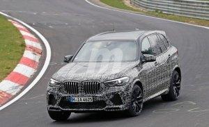 El nuevo BMW X5 M ultima sus pruebas en Nürburgring