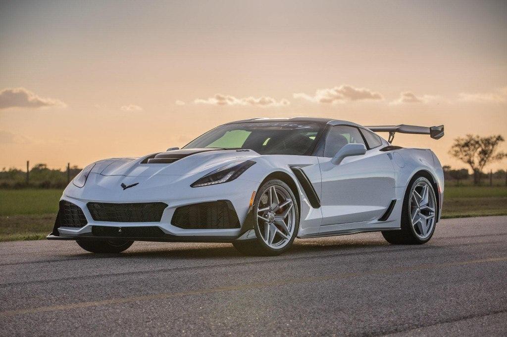 Todas las imágenes del espectacular Corvette ZR1 de 1.217 CV de Hennessey