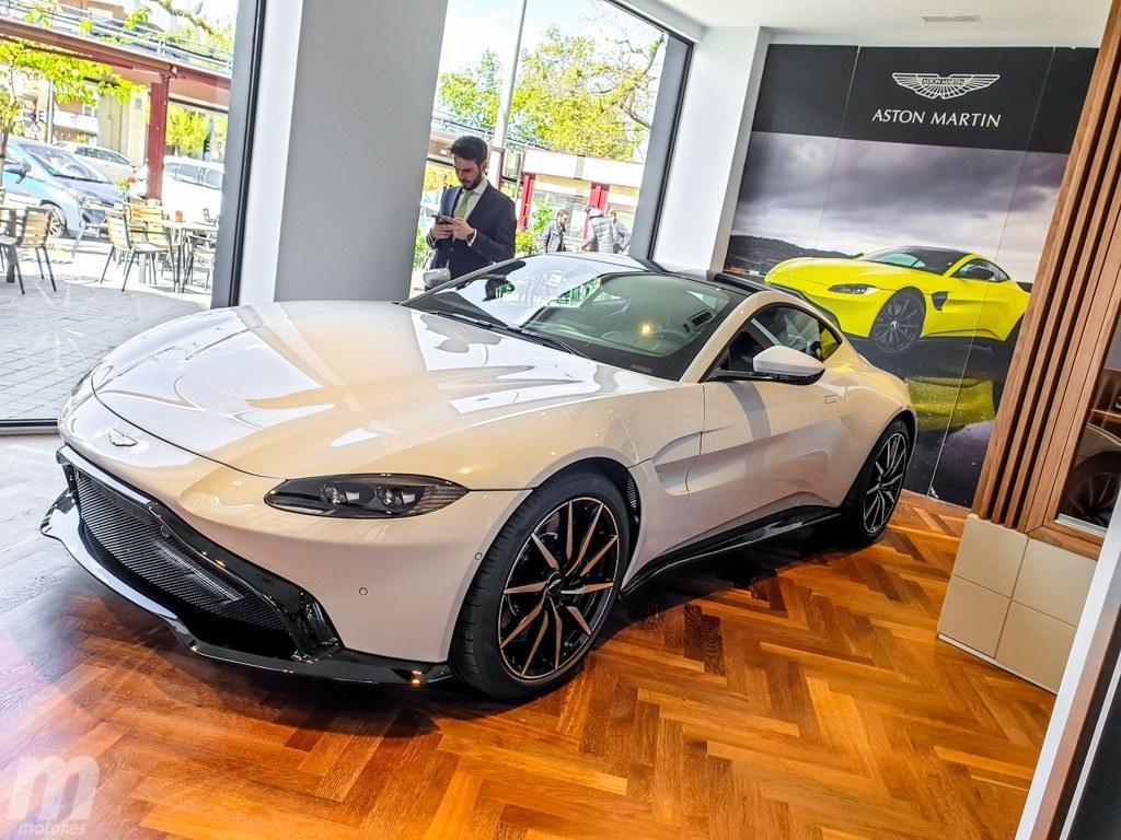 Tayre trae a Aston Martin de vuelta a Madrid