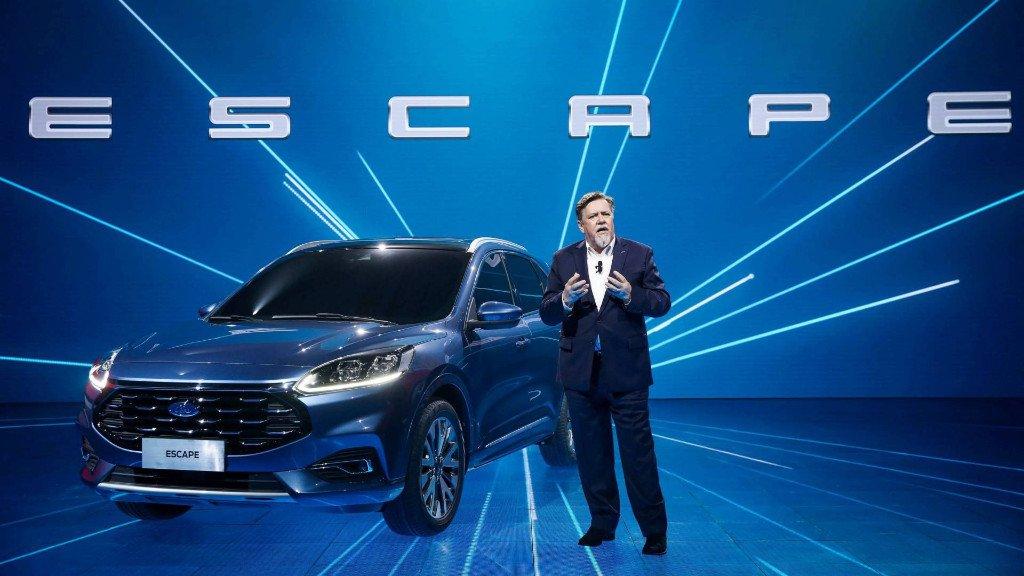 El nuevo Ford Escape 2020 chino llega con un frontal único