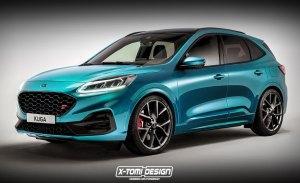Así luce una versión ST más picante de los nuevos Ford Kuga/Escape