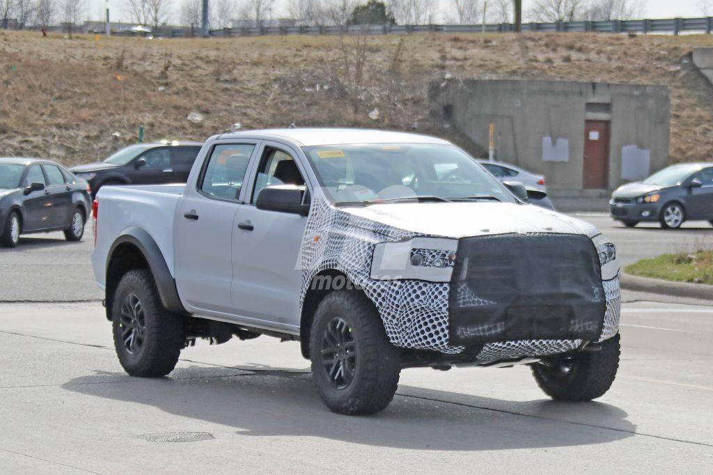 Primeras imágenes del desarrollo de la nueva generación del Ford Ranger Raptor