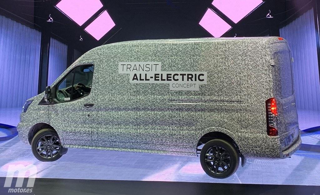 La versión eléctrica del Ford Transit será una realidad en 2021