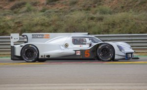 El Ginetta G60-LT-P1 'renace' con un test en MotorLand