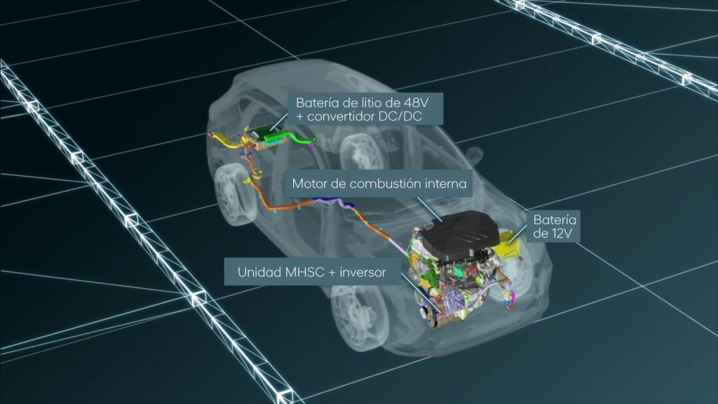 Hyundai explica el funcionamiento de su semihíbrido de 48 Voltios
