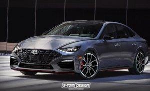 Este es el posible aspecto del futuro Hyundai Sonata N de 275 CV