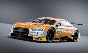 Jamie Green y su nuevo Audi RS 5 DTM, todo al naranja