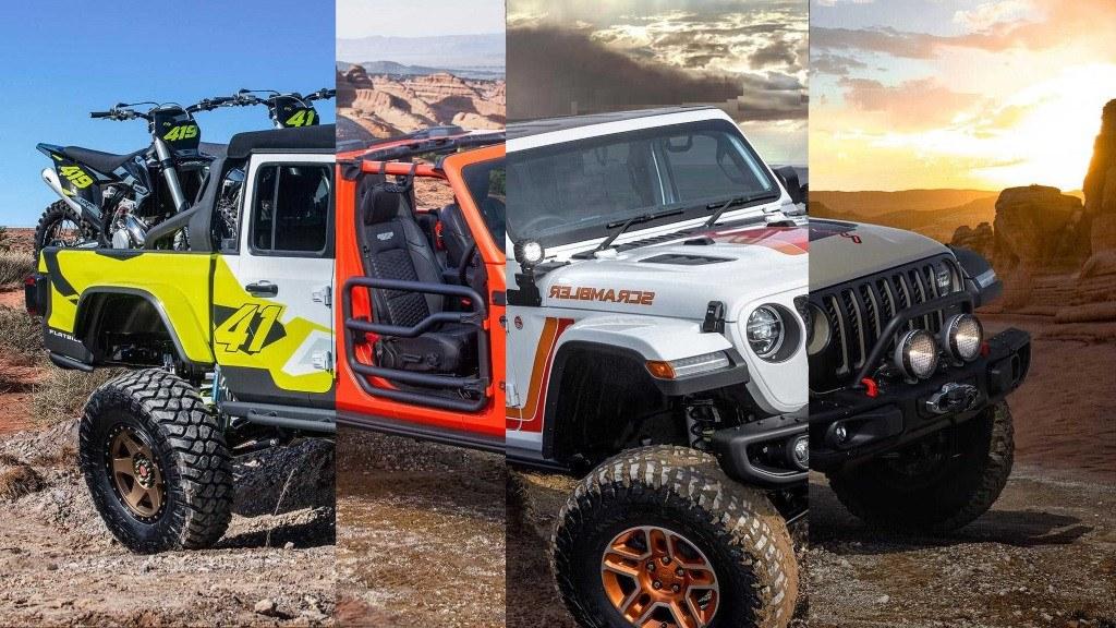 Jeep presenta 6 atractivos concepts sobre el nuevo Gladiator pick-up