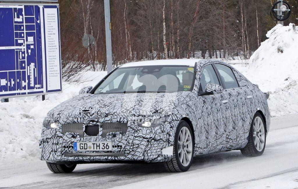 La nueva generación del Mercedes Clase C tendrá versión híbrida enchufable PHEV