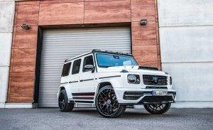Así de extremo luce el Mercedes-AMG G 63 preparado por Lumma Design