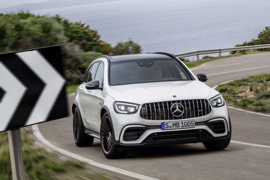 Mercedes-AMG presenta en Nueva York 2019 los nuevos GLC 63 4MATIC+ y GLC 63 S 4MATIC+