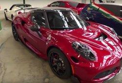 Un vídeo destapa los prototipos del rumoreado Alfa Romeo 4C Quadrifoglio