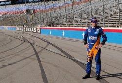 Primer test de Alonso en el óvalo de Texas con el nuevo coche