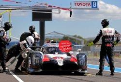 Alonso y Toyota completan un intenso test en Paul Ricard