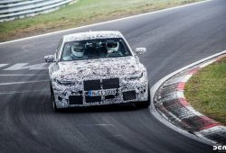 El BMW M3 Competition Package ya rueda fuertemente camuflado en el Ring
