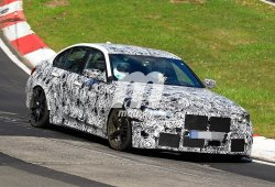 El nuevo BMW M3 regresa a Nürburgring para continuar con su desarrollo