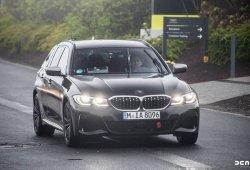 El nuevo BMW M340i Touring también se deja ver en Nürburgring