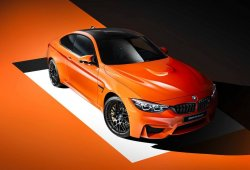 BMW Individual presenta el espectacular BMW M4 Coupé Fire Orange