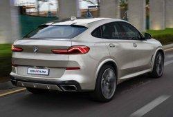 Este es el posible aspecto del nuevo BMW X6 generación G06