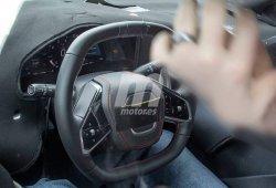 Las primeras imágenes del puesto de mandos del Chevrolet Corvette C8