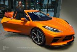El nuevo Chevrolet Corvette se desnuda en sus nuevos y más precisos renders