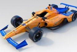 McLaren presenta la decoración de Alonso para la Indy 500