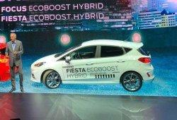 Ford desvela el nuevo Fiesta EcoBoost Hybrid