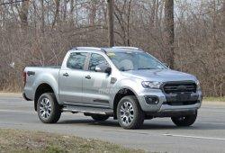 Cazada una posible mula del Ford Ranger Diesel US-specs
