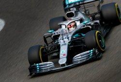 Hamilton saca el martillo en Shanghái frente a Bottas y Vettel