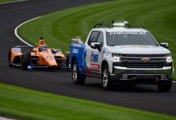 La lluvia y la mecánica lastran a Alonso en un test liderado por Sato