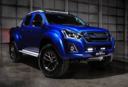 Isuzu D-Max Arctic Trucks AT35 Safir, el pick-up se torna más exclusivo