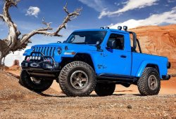 ¿El Jeep Gladiator J6 concept adelanta una futura variante de 2 puertas?