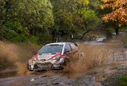 Kris Meeke manda en el barro del Rally de Argentina