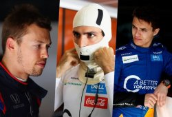 Kvyat, Sainz y Norris: 3 pilotos, 3 versiones diferentes del accidente