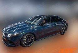 El nuevo Mercedes-AMG A 35 Sedán de batalla larga filtrado en China