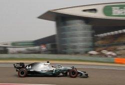Mercedes recupera en las curvas lo que pierde con Ferrari en las rectas