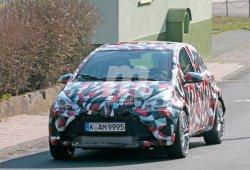 Misteriosa mula del Toyota Yaris: ¿R5 en desarrollo?