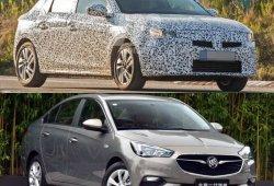 ¿El nuevo Buick Excelle nos adelanta el diseño del Opel Corsa 2020?
