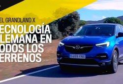 Opel Grandland X: video, tecnología alemana para todos los terrenos