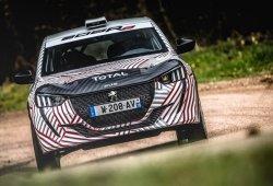 El nuevo Peugeot 208 R2 debuta con su primer test
