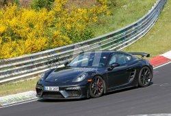 El nuevo Porsche 718 Cayman GT4 ultima sus pruebas en Nürburgring