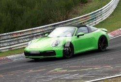 El nuevo Porsche 911 Targa (992) se deja ver por primera vez