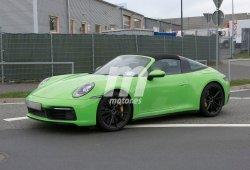 Los prototipos del nuevo Porsche 911 Targa en movimiento [vídeo]