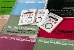 Porsche Classic reimprime manuales de instrucciones de modelos antiguos